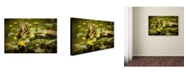 "Trademark Global Lois Bryan 'Hidden Treasure' Canvas Art - 12"" x 19"""
