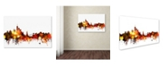 "Trademark Global Michael Tompsett 'New York Skyline VIII' Canvas Art - 12"" x 19"""