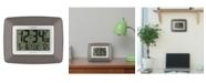 La Crosse Technology Atomic Digital Wall Clock with Temperature