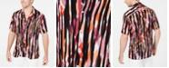 INC International Concepts Mr. Turk X INC Men's Ikat Camp Collar Shirt, Created for Macy's