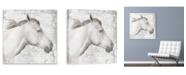 "Artissimo Designs Pallid I Printed Canvas Art - 27"" W x 27"" H x 1.25"" D"