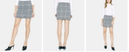 Sanctuary Check Her Out Knit Mini Skirt