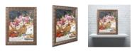 """Trademark Global David Lloyd Glover 'The Summer Picnic' Ornate Framed Art - 11"""" x 14"""""""