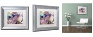 """Trademark Global David Lloyd Glover 'Cloud Patterns' Matted Framed Art - 11"""" x 14"""""""