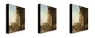 """Trademark Global Canaletto 'Piazza di San Marco, Venezzia' Canvas Art - 24"""" x 18"""""""
