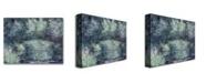 "Trademark Global Claude Monet 'The Japanese Bridge III' Canvas Art - 47"" x 35"""