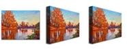 "Trademark Global David Lloyd Glover 'Reflected Impressions' Canvas Art - 47"" x 30"""