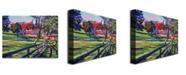 "Trademark Global David Lloyd Glover 'Country House' Canvas Art - 24"" x 18"""