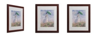 "Trademark Global Claude Monet 'Woman With a Parasol' Matted Framed Art - 20"" x 16"""