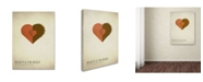 "Trademark Global Christian Jackson 'Beauty and the Beast' Canvas Art - 47"" x 30"""