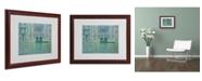 "Trademark Global Claude Monet 'Palazzo da Mula Venice' Matted Framed Art - 20"" x 16"""