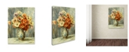 "Trademark Global Pierre Auguste Renoir 'Vase d'Anemones' Canvas Art - 47"" x 35"""