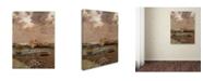 "Trademark Global Jean Cazin 'Landscape 1880' Canvas Art - 32"" x 24"""