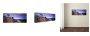 "Trademark Global David Evans 'Ubirr-Kakadu' Canvas Art - 32"" x 10"""