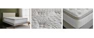 "Brentwood Home Grand 14"" Gel Memory Foam Medium Eurotop Hybrid Mattress - California King Size"