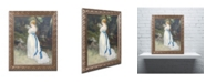 "Trademark Global Pierre Auguste Renoir 'Lady in White' Ornate Framed Art - 16"" x 20"""
