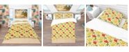 Design Art Designart 'Mexican Woman Pattern' Tropical Duvet Cover Set - Queen