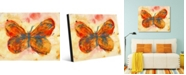"""Creative Gallery Ho Oneno Butterfly Abstract Portrait Metal Wall Art Print - 16"""" x 20"""""""