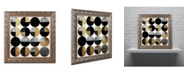 "Trademark Global Color Bakery 'Conversation' Ornate Framed Art - 11"" x 11"""