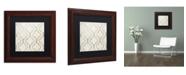 "Trademark Global Color Bakery 'Paris Apartment IV' Matted Framed Art - 11"" x 11"""
