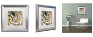 "Trademark Global Color Bakery 'Stone Prose' Matted Framed Art - 16"" x 16"""