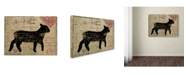 "Trademark Global Color Bakery 'Paris Farms III' Canvas Art - 35"" x 47"""