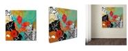 """Trademark Global Color Bakery 'Bali II' Canvas Art - 14"""" x 14"""""""
