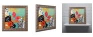 "Trademark Global Color Bakery 'Bali II' Ornate Framed Art - 16"" x 16"""