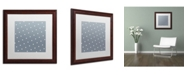 "Trademark Global Color Bakery 'Set 1 B' Matted Framed Art - 16"" x 16"""