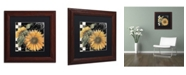 "Trademark Global Color Bakery 'Late Summer II' Matted Framed Art - 11"" x 11"""