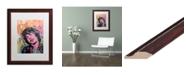 """Trademark Global Dean Russo 'Mick 1' Matted Framed Art - 16"""" x 20"""""""