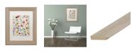 """Trademark Global Carrie Schmitt 'Gentle Soul' Matted Framed Art - 11"""" x 14"""""""