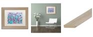 """Trademark Global Carrie Schmitt 'Joy Unleash' Matted Framed Art - 11"""" x 14"""""""