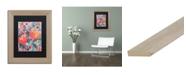 """Trademark Global Carrie Schmitt 'Inhalation' Matted Framed Art - 11"""" x 14"""""""