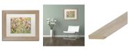 """Trademark Global Carrie Schmitt 'Natarajasana' Matted Framed Art - 11"""" x 14"""""""