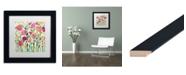 """Trademark Global Carrie Schmitt 'She Lived in Full Bloom' Matted Framed Art - 11"""" x 11"""""""