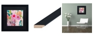 """Trademark Global Carrie Schmitt 'First Kiss' Matted Framed Art - 16"""" x 16"""""""