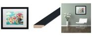 "Trademark Global Natasha Wescoat 'Epic Adventure' Matted Framed Art - 16"" x 20"""