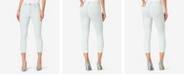 Skinnygirl Women's Regular Highrise Skinny Crop Baby Hem Jeans