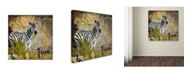 "Trademark Global Color Bakery 'Taste Of Africa IV' Canvas Art - 14"" x 14"""