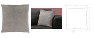 "Monarch Specialties 18"" x 18"" Mosaic Velvet Pillow"