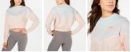 Nike Women's Colorblocked Fleece Cropped Sweatshirt