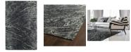 "Kaleen Brushstrokes BRS01-38 Charcoal 5' x 7'9"" Area Rug"