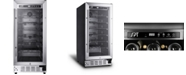 SPT Appliance Inc. SPT 33-Bottle Under-Counter Wine Cooler Commercial Grade