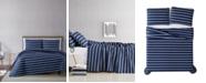 Truly Soft Maddow Stripe Twin XL Quilt Set