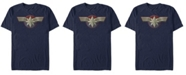Marvel Captain Men's Uniform Costume Short Sleeve T-Shirt