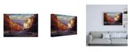 "Trademark Global R W Hedge The Gallery Merge Canvas Art - 36.5"" x 48"""