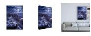 "Trademark Global R W Hedge Easy Morning Canvas Art - 27"" x 33.5"""