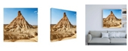 "Trademark Global Philippe Hugonnard Made in Spain 3 Bardenas Reales Canvas Art - 15.5"" x 21"""