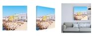 "Trademark Global Philippe Hugonnard Made in Spain 3 Cadiz Colorful City Canvas Art - 19.5"" x 26"""
